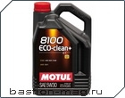 MOTUL 8100 ECO-CLEAN PLUS 5W30 C1 5л.